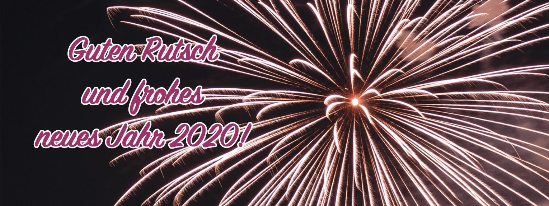 Guten Rutsch und frohes neues Jahr